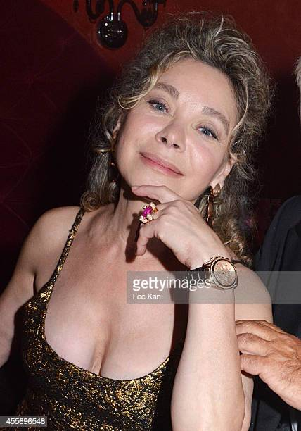 Grace de Capitani attends the Black TV Channel' Launch Party At the Penthouse Club on September 18 2014 in Paris France