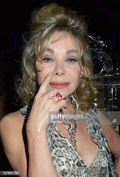 Grace de Capitani attends the Jeweler Edouard Nahum 'Maya' New Collection Launch Party at La Gioia on December 4 2012 in Paris France