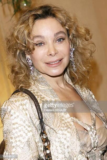 Grace de Capitani in Paris France on November 21 2006