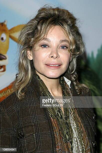 Grace de Capitani in Paris France on October 08 2006