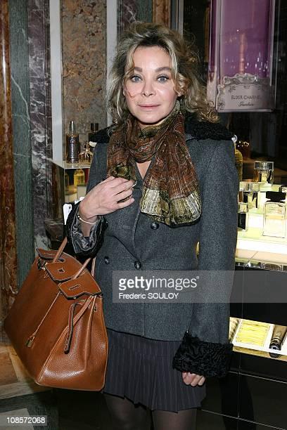 Grace de Capitani in Paris France on October 16 2008