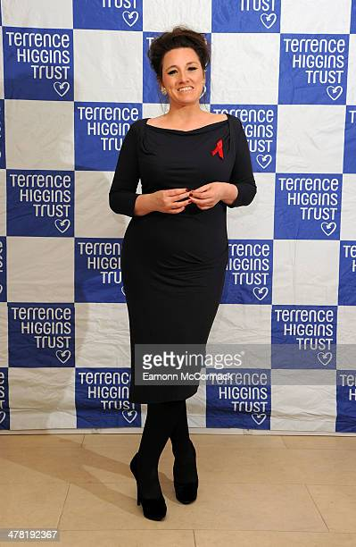 Grace Dent attends The Auction in aid of the Terrence Higgins Trust at Christie's King Street on March 12 2014 in London England
