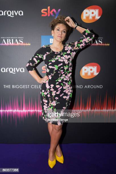 Grace Dent attends the Audio Radio Industry Awards at First Direct Arena Leeds on October 19 2017 in Leeds England