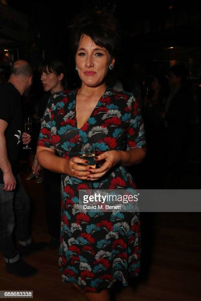 Grace Dent attends the launch of new restaurant 'Red Rooster' at The Curtain on May 25 2017 in London England