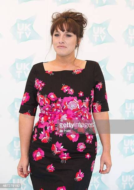 Grace Dent attends the UKTV Live launch at Phillips Gallery on September 8 2015 in London England