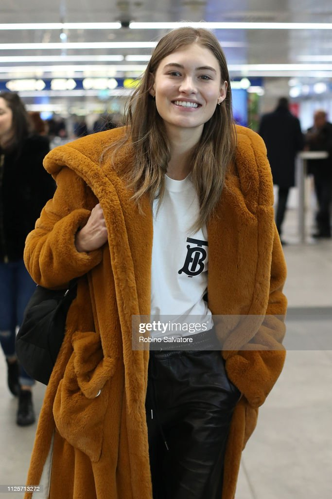 ITA: Celebrity Sightings - Ahead Of Milan Fashion Week Autumn/Winter 2019/20