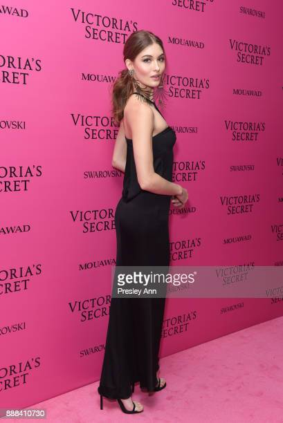 Grace Elizabeth attends 2017 Victoria's Secret Fashion Show In Shanghai After Party at MercedesBenz Arena on November 20 2017 in Shanghai China