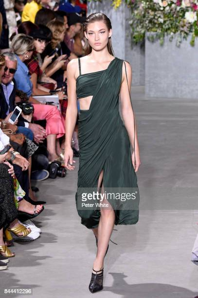 Grace Elizabeth walks the runway at the Jason Wu show during the New York Fashion Week on September 8 2017 in New York City