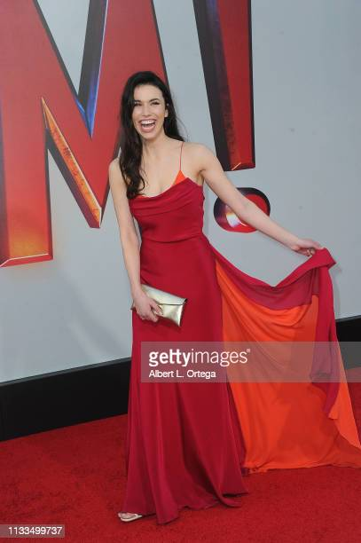 Grace Fulton arrives for the Warner Bros Pictures And New Line Cinema's World Premiere Of SHAZAM held at TCL Chinese Theatre on March 28 2019 in...
