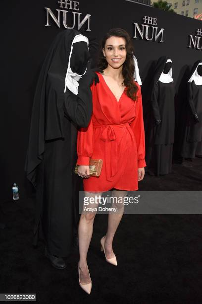 Grace Fulton attends the premiere of Warner Bros Pictures' 'The Nun' at TCL Chinese Theatre on September 4 2018 in Hollywood California