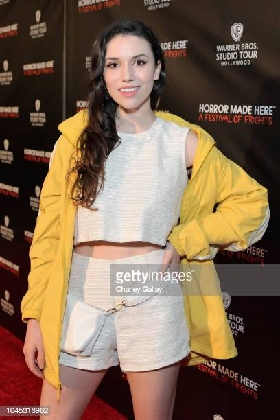 Grace Fulton attends the Warner Bros Studio Tour Hollywood Horror Made Here A Festival Of Frights on October 3 2018 in Burbank California