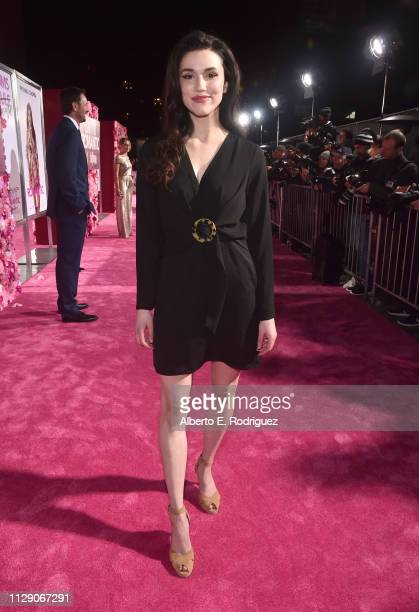Grace Fulton attends the World Premiere of Warner Bros Pictures' Isn't It Romantic at The Theatre at Ace Hotel on February 11 2019 in Los Angeles...