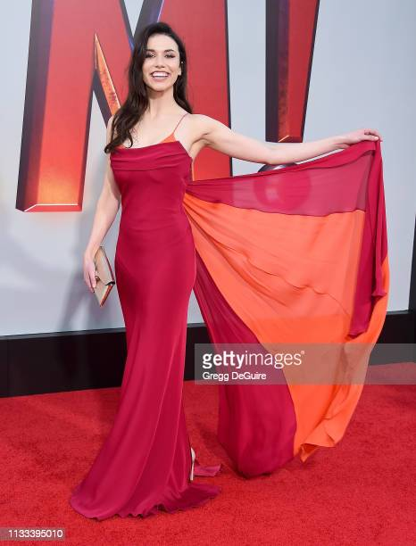 Grace Fulton attends Warner Bros Pictures And New Line Cinema's World Premiere Of SHAZAM at TCL Chinese Theatre on March 28 2019 in Hollywood...