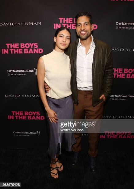 Grace Gail and Adam Rodriguez attend 'The Boys in the Band' 50th Anniversary Celebration at The Booth Theatre on May 30 2018 in New York City