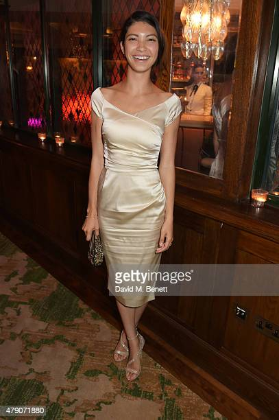 Grace Gail attends a postpremiere dinner for Magic Mike XXL at The Ivy on June 30 2015 in London England