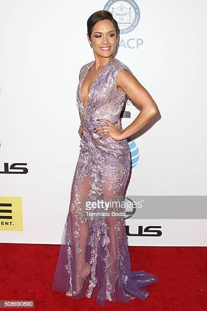 Grace Gealey attends the 47th NAACP Image Awards held at Pasadena Civic Auditorium on February 5, 2016 in Pasadena, California.