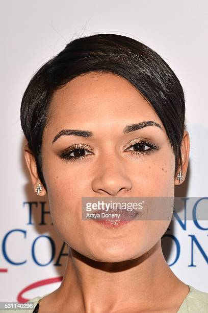 Grace Gealey attends the AltaMed Health Services' Power Up, We Are The Future Gala at the Beverly Wilshire Four Seasons Hotel on May 12, 2016 in...