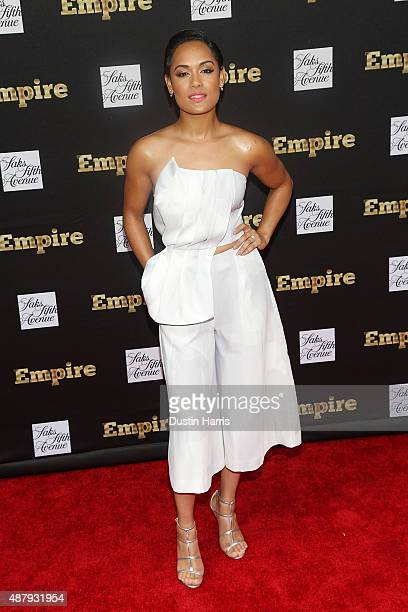 """Grace Gealey attends the """"Empire"""" Curated Collection Unveiling at Saks Fifth Avenue on September 12, 2015 in New York City."""