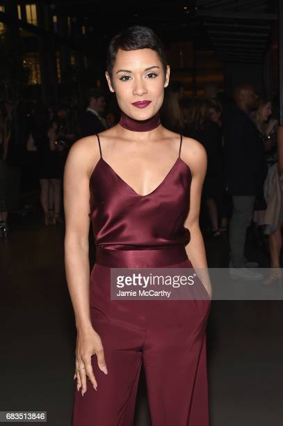 Grace Gealey Byers attends the Entertainment Weekly and PEOPLE Upfronts party presented by Netflix and Terra Chips at Second Floor on May 15 2017 in...