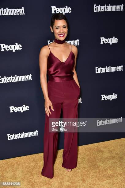 Grace Gealey Byers attends the Entertainment Weekly People New York Upfronts at 849 6th Ave on May 15 2017 in New York City