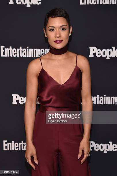 Grace Gealey Byers of Empire attends the Entertainment Weekly and PEOPLE Upfronts party presented by Netflix and Terra Chips at Second Floor on May...