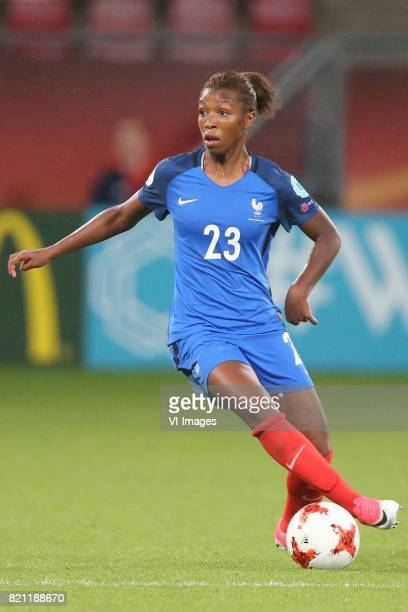 Grace Geyoro of France women during the UEFA WEURO 2017 Group C group stage match between France and Austria at the Galgenwaard Stadium on July 22...