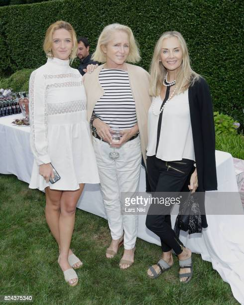 Grace Gill Jane Gill and Bonnie Pfeifer Evans attend The Hamptons International Film Festival SummerDocs series screening of Trophy on July 29 2017...