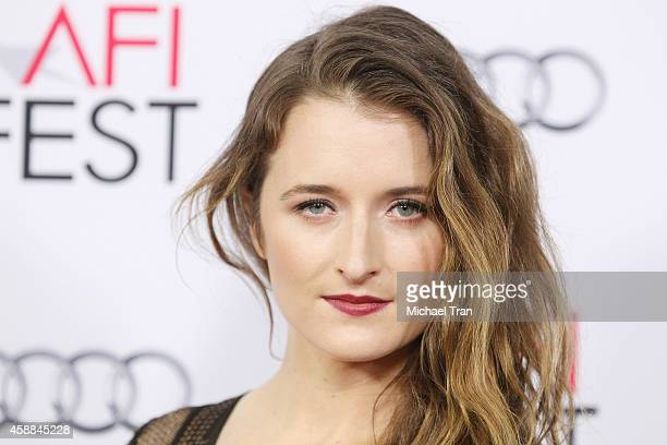 Grace Gummer arrives at AFI FEST 2014 Presented By Audi 'The Homesman' premiere held at Dolby Theatre on November 11 2014 in Hollywood California
