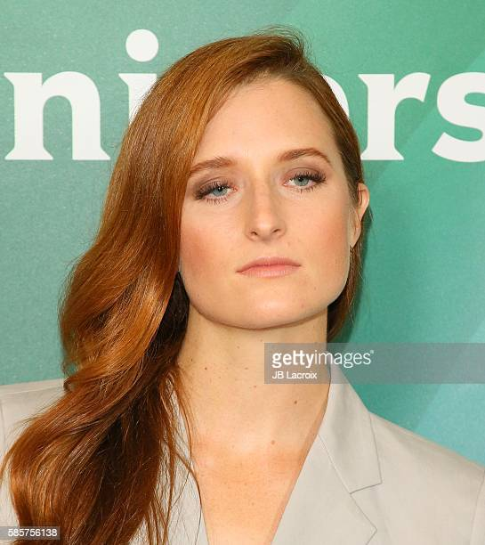 Grace Gummer attends the 2016 Summer TCA Tour NBCUniversal Press Tour on August 3 2016 in Beverly Hills California