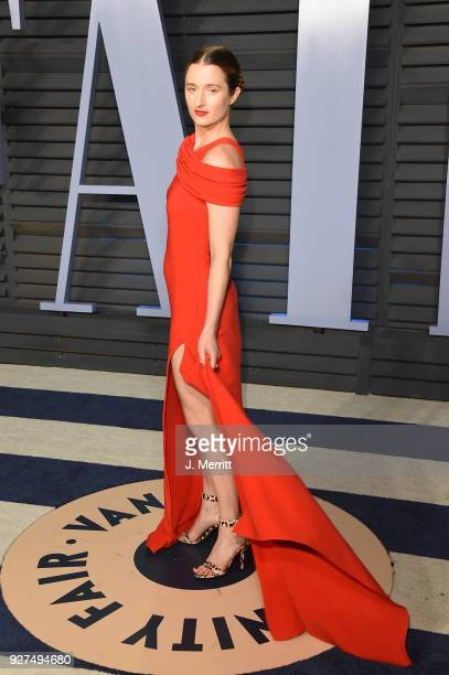 Grace Gummer attends the 2018 Vanity Fair Oscar Party hosted by Radhika Jones at the Wallis Annenberg Center for the Performing Arts on March 4 2018...