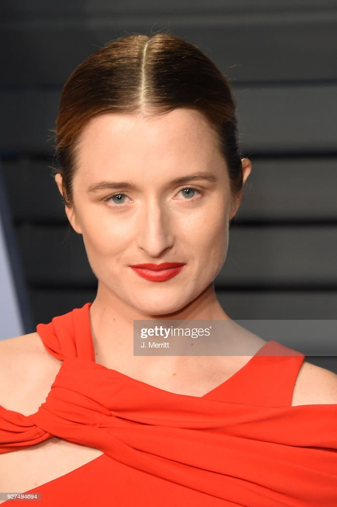 Grace Gummer attends the 2018 Vanity Fair Oscar Party hosted by Radhika Jones at the Wallis Annenberg Center for the Performing Arts on March 4, 2018 in Beverly Hills, California.