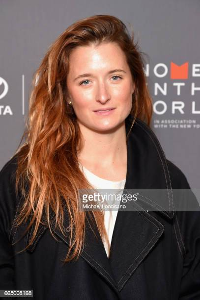 Grace Gummer attends the Eighth Annual Women In The World Summit at Lincoln Center for the Performing Arts on April 5 2017 in New York City