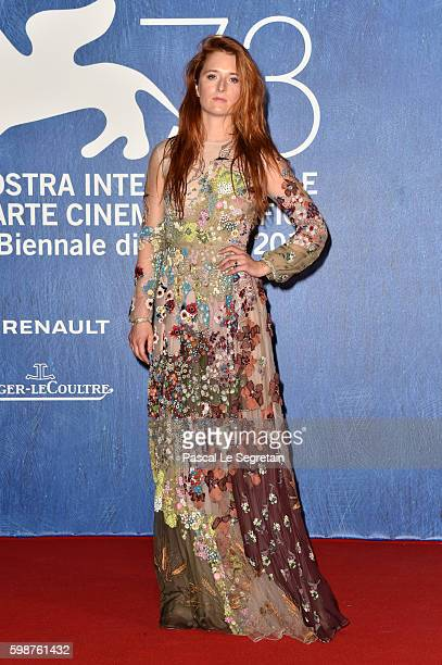 Grace Gummer attends the premiere of 'Franca Chaos And Creation' during the 73rd Venice Film Festival at Sala Giardino on September 2 2016 in Venice...