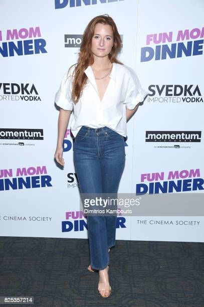 Grace Gummer attends the screening Of 'Fun Mom Dinner' at Landmark Sunshine Cinema on August 1 2017 in New York City