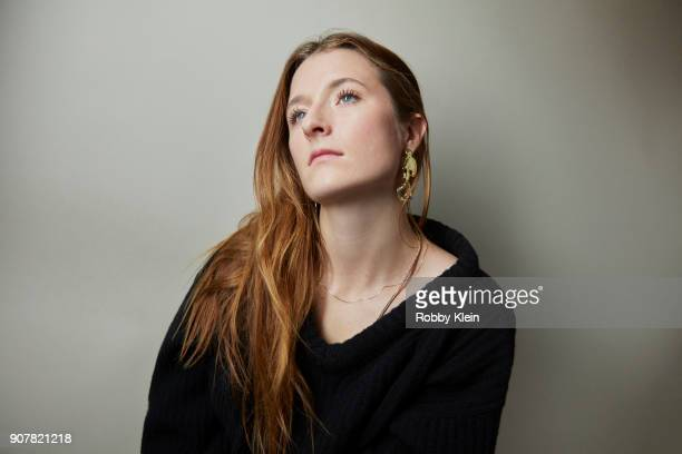 Grace Gummer from the film 'The Long Dumb Road' poses for a portrait at the YouTube x Getty Images Portrait Studio at 2018 Sundance Film Festival on...