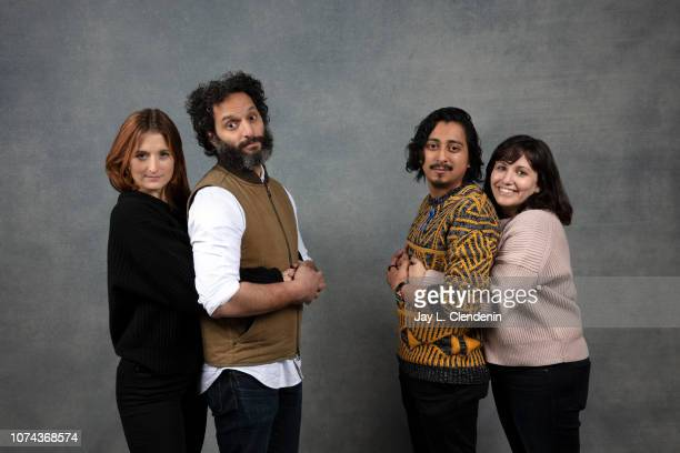 Grace Gummer Jason Mantzoukas Tony Revolori and Hannah Fidell are photographed for Los Angeles Times on January 19 2018 in the LA Times Studio at...