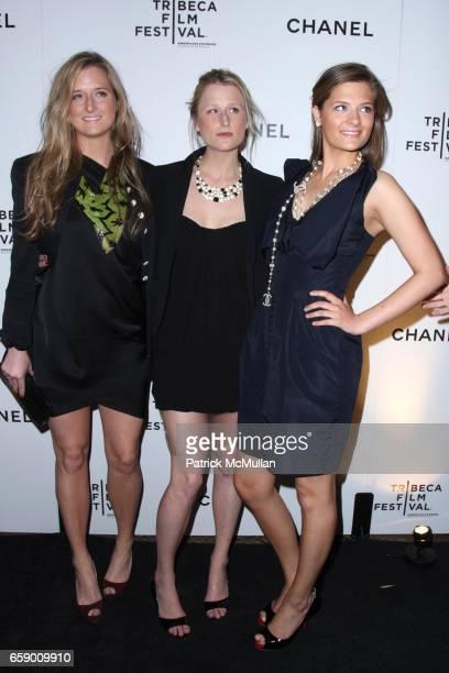 Grace Gummer Mamie Gummer and Louisa Gummer attend Chanel Tribeca Film Festival Dinner at The Odeon on April 23 2009 in New York City