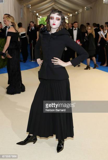 Grace Hartzel attends the 'Rei Kawakubo/Comme des Garcons Art Of The InBetween' Costume Institute Gala at Metropolitan Museum of Art on May 1 2017 in...