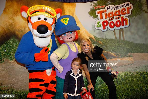 Grace Hasselbeck and Elizabeth Hasselbeck attend the Playhouse Disney unveiling of preschool toys and electronics at Toys R Us in Times Square on...