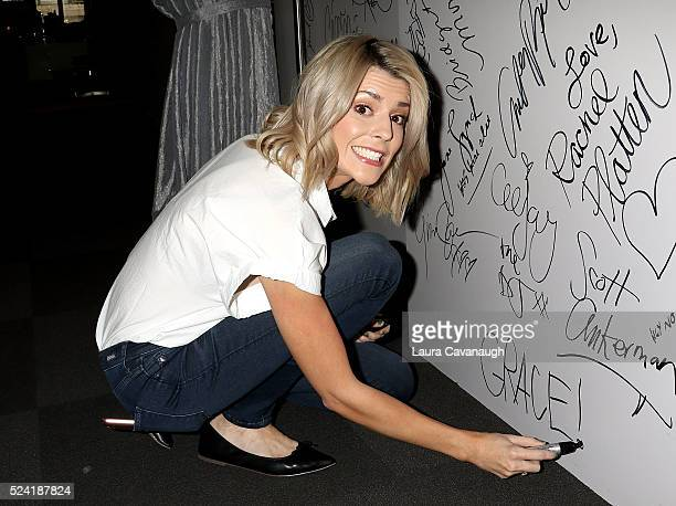 Grace Helbig attends AOL Build Speaker Series to discuss 'Electra Woman And Dyna Girl' at AOL Studios In New York on April 25 2016 in New York City