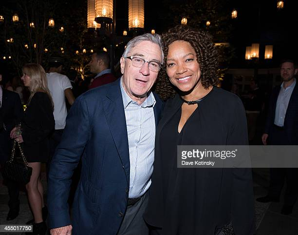 Grace Hightower and Robert De Niro attend the Tribeca Film Institute Annual Gala Benefit Screening Of This Is Where I Leave You After Party at Tavern...