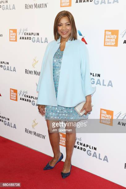 Grace Hightower attends the 44th Chaplin Award Gala at David H Koch Theater at Lincoln Center on May 8 2017 in New York City