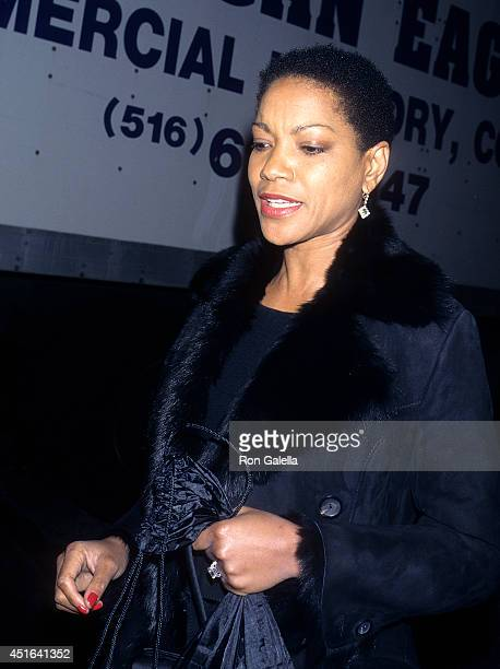 Grace Hightower attends the 'Marvin's Room' Premiere Party on December 10 1996 at the WaldorfAstoria Hotel in New York City