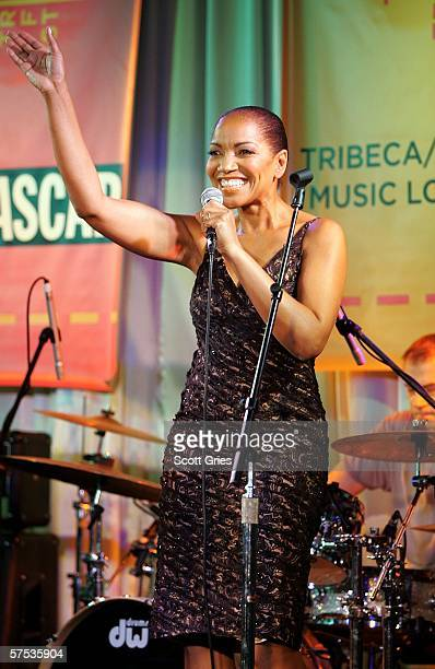Grace Hightower De Niro performs at the Tribeca/ASCAP Music Lounge at the Canal Room May 4 2006 in New York City