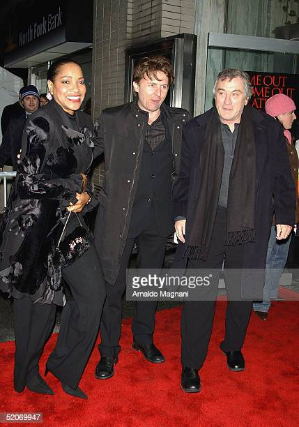 Grace Hightower director John Polson and Robert DeNiro attend a screening of 'Hide and Seek' at the Beekman Theater on January 26 2005 in New York...