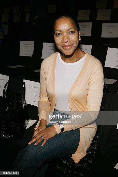 Grace Hightower during Olympus Fashion Week Fall 2006 Wunderkind Front Row at Bryant Park in New York City New York United States