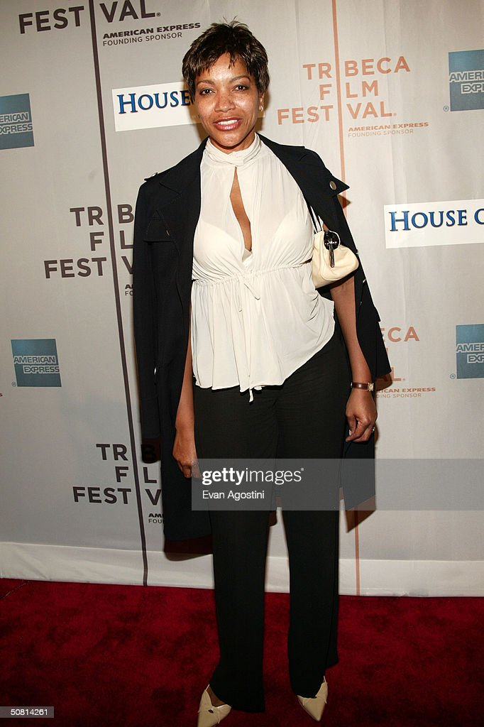 Grace Hightower poses at the screening of 'House Of D' during the 2004 Tribeca Film Festival May 7, 2004 in New York City.