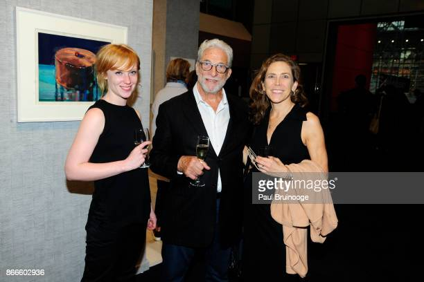Grace Jackson Sean Milant and Leslie Jones attend the IFPDA Fine Art Print Fair Opening Preview at The Jacob K Javits Convention Center on October 25...
