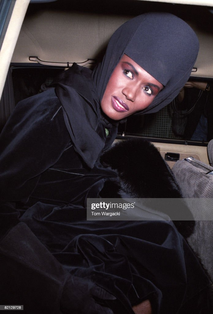 Grace Jones at play