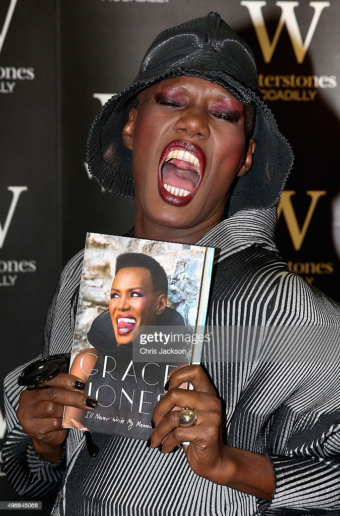 Grace Jones Book Signing